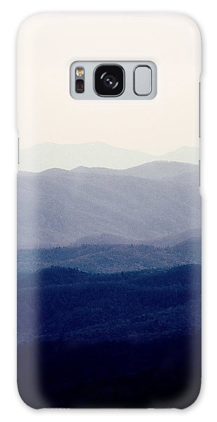 Mountains Galaxy Case by Kim Fearheiley