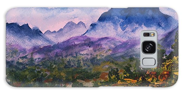 Mountains Of Pyrenees  Galaxy Case