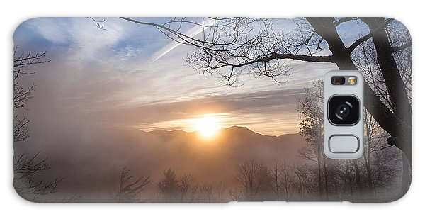 Mountaintop Sunrise Galaxy Case