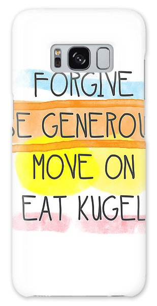 Move On And Eat Kugel Galaxy Case