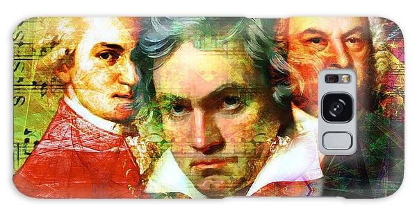 Mozart Beethoven Bach 20140128 Galaxy Case