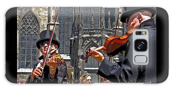 Mozart In Masquerade Galaxy Case by Ann Horn