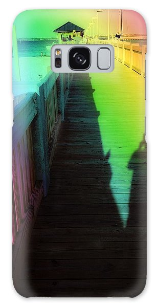 Mprints- The Long Walk Galaxy Case by M  Stuart