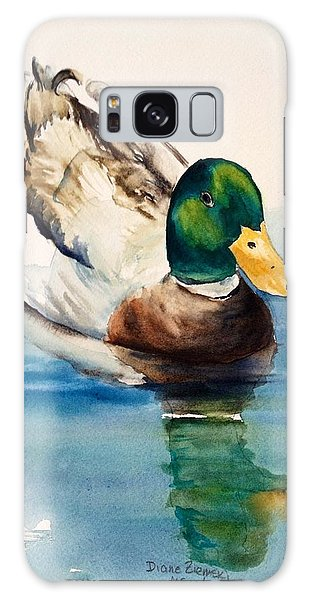 Mr Duck Galaxy Case