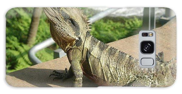 Mr Lizard Posing Galaxy Case