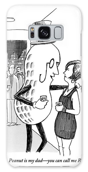 Mr. Peanut Tries To Pick Up A Woman At A Cocktail Galaxy Case