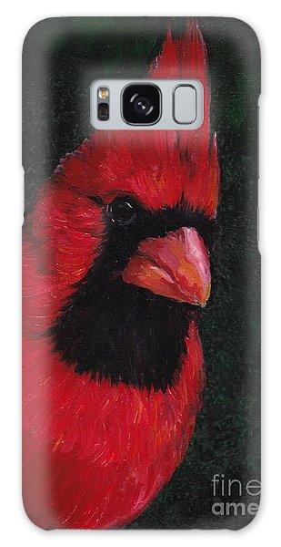 Mr Red Cardinal Galaxy Case