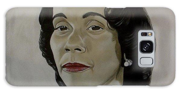 Mrs. Coretta Scott King Galaxy Case by Chelle Brantley