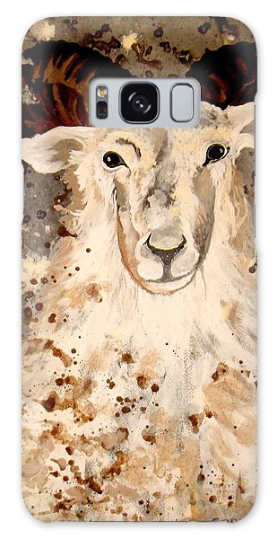Powell Mountain Goat Galaxy Case by Amy Sorrell