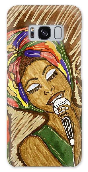 Ms. Badu Galaxy Case by Chrissy  Pena