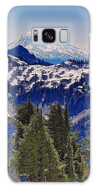 Mt Adams Galaxy Case by Ken Stanback