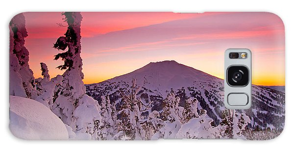 Mt. Bachelor Winter Twilight Galaxy Case