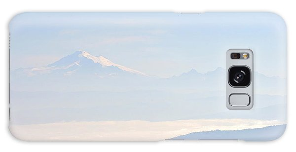 Mt. Baker From San Juan Islands Galaxy Case