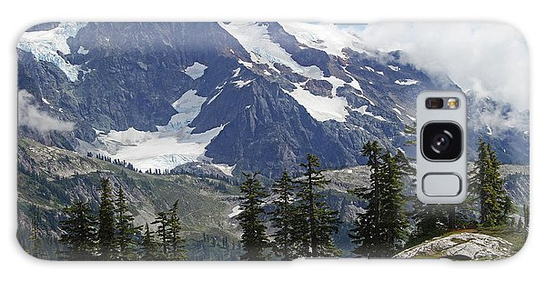 Mt Baker Washington View Galaxy Case by Tom Janca