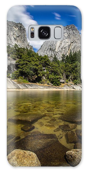 Mt. Broderick And Liberty Cap Galaxy Case by Mike Lee