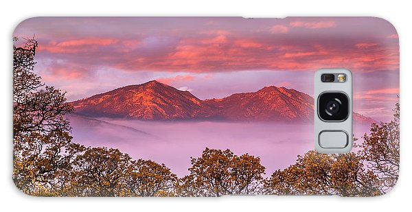 Mt Diablo In The Early Morning Light Galaxy Case