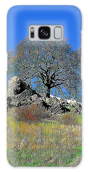 Mt. Diablo Oak Tree Galaxy Case by Wernher Krutein