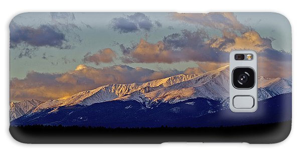 Mt Elbert Sunrise Galaxy Case