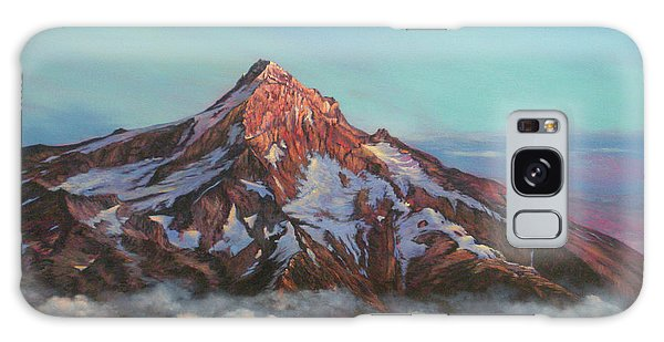 Mt Hood North Face Galaxy Case by Jeanette French