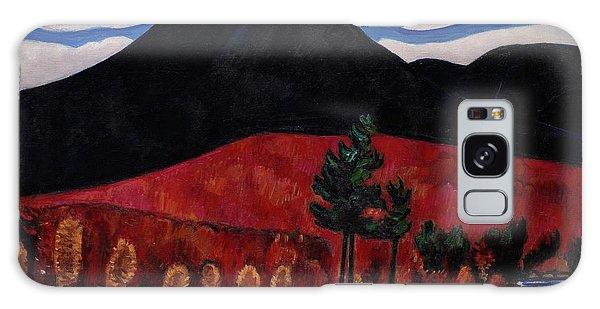 Central America Galaxy Case - Mt. Katahdin Maine, Autumn 2 by Marsden Hartley