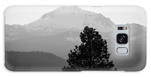 Mt. Lassen With Tree Galaxy Case