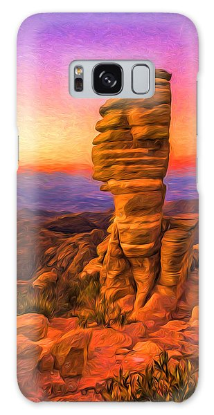 Mt. Lemmon Hoodoo Artistic Galaxy Case