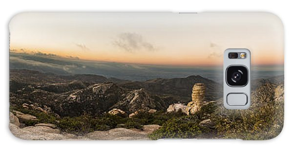 Mt. Lemmon Windy Point Panorama Galaxy Case