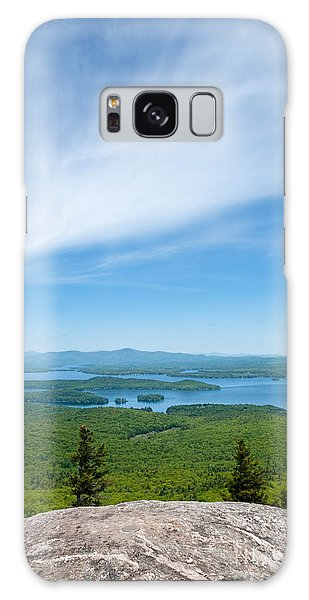Mt Major View Galaxy Case by Sharon Seaward
