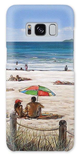 Mt Maunganui Beach 090209 Galaxy Case