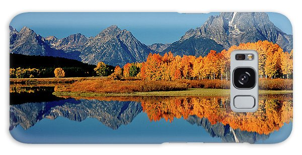 Mt. Moran Reflection Galaxy Case