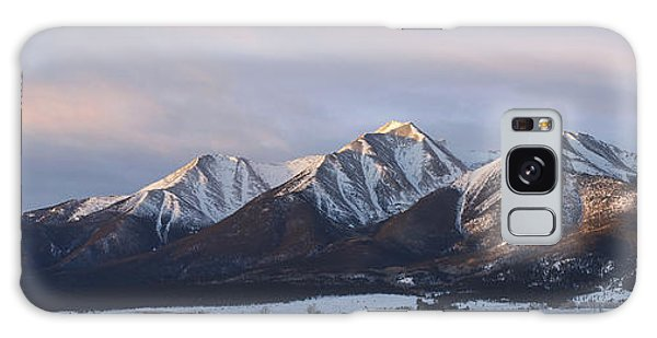 Mt. Princeton Panorama Galaxy Case by Aaron Spong