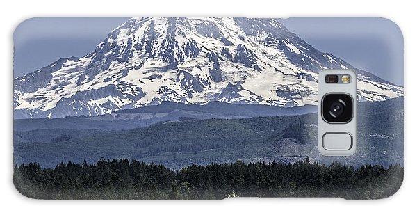Mt Rainer In July Galaxy Case