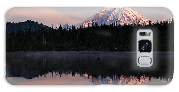 Mt. Rainier From Surprise Lake Galaxy Case