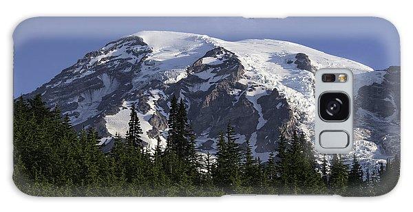 Mt Rainier Landscape Galaxy Case