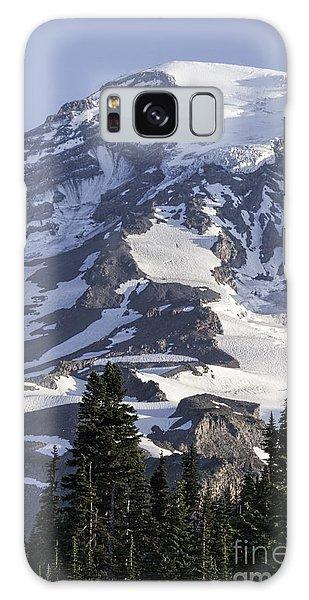 Mt Rainier Portrait Galaxy Case