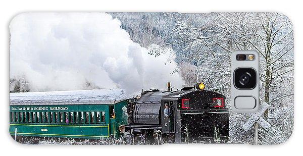 Mt. Rainier Scenic Steam Train Galaxy Case