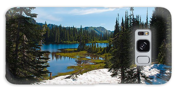 Mt. Rainier Wilderness Galaxy Case by Tikvah's Hope