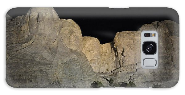 Mt. Rushmore At Night Galaxy Case