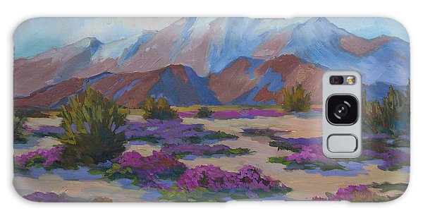 Mt. San Jacinto And Verbena Galaxy Case