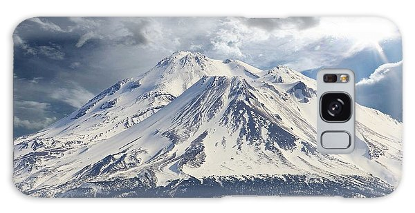 Mt Shasta Galaxy Case by Athala Carole Bruckner