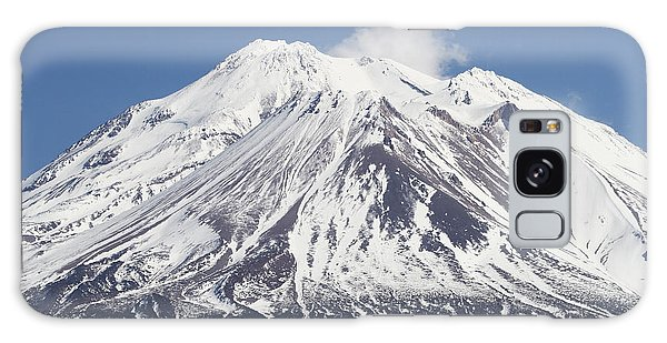 Mt Shasta California Galaxy Case by Tom Janca