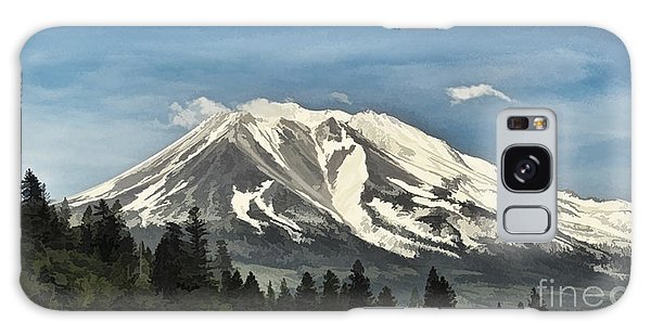 Mt. Shasta Galaxy Case