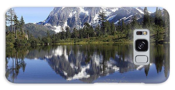 Mt Shuskan Galaxy Case by Elvira Butler