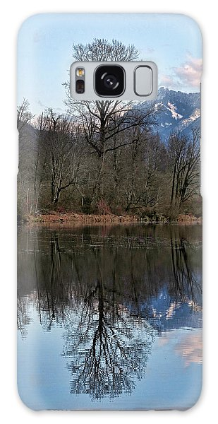 Mt Si From Mill Pond 3 Galaxy Case