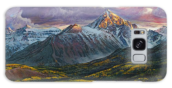 Galaxy Case featuring the painting Mt. Sneffels by Aaron Spong