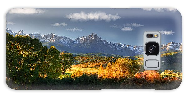 Mt Sneffels And The Dallas Divide Galaxy Case by Ken Smith