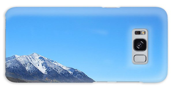 Galaxy Case featuring the photograph Mt. Sopris by Kate Avery