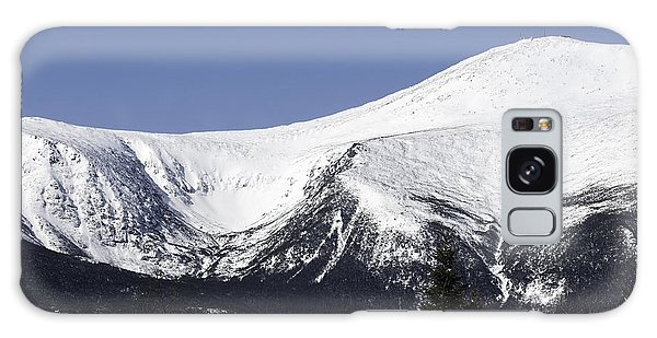 Mt Washington And Tuckerman's Ravine Galaxy Case by Sharon Seaward