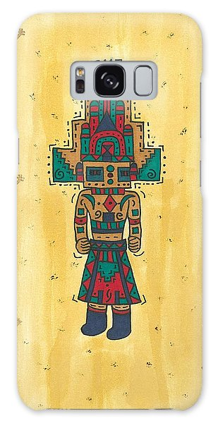 Mudhead Kachina Doll Galaxy Case by Susie Weber