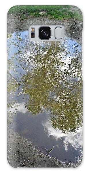 Mudpuddle Reflection Galaxy Case
